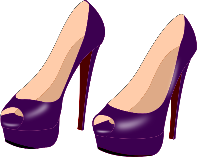 Free to Use & Public Domain Shoes Clip Art.