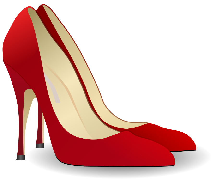 High heel shoes clip art free.