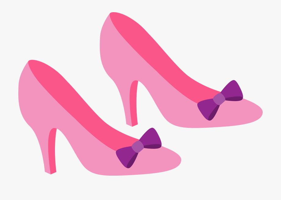 Purple Clipart High Heel.