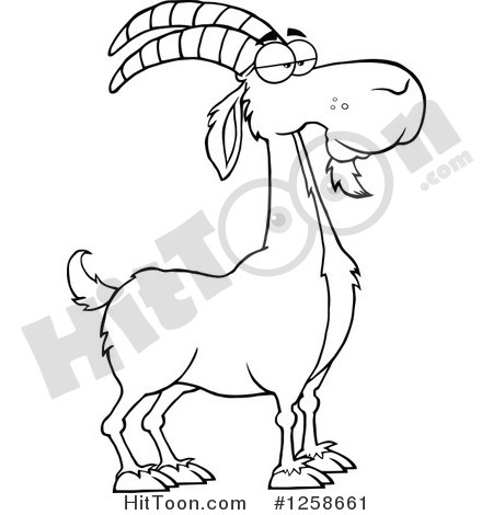 He goat clipart.