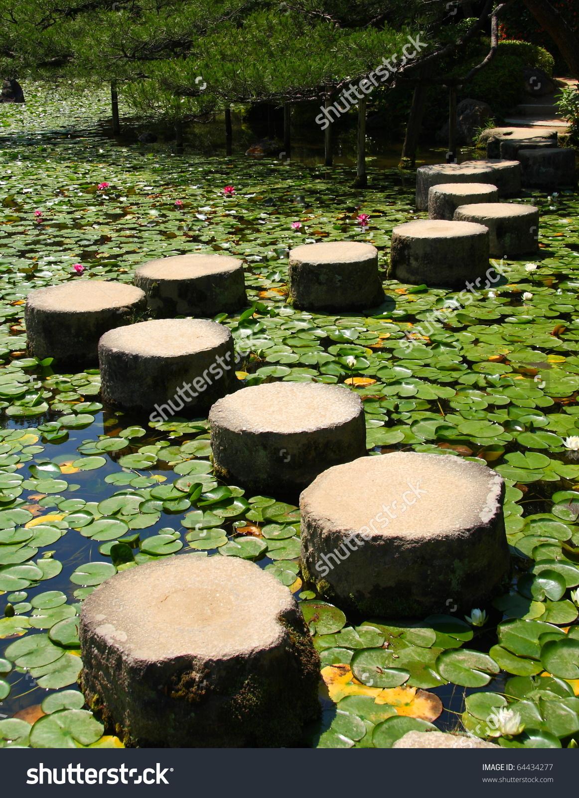 Famous Stepping Stones Heian Shrine Kyoto Stock Photo 64434277.