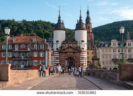 Heidelberg clipart.