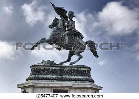 Picture of Statue of Archduke Charles k25477407.