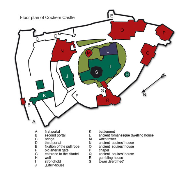 Location of the castle.
