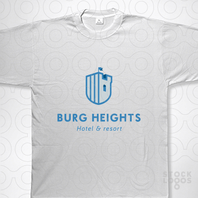 Exclusive Customizable Logo For Sale: Burg Heights.