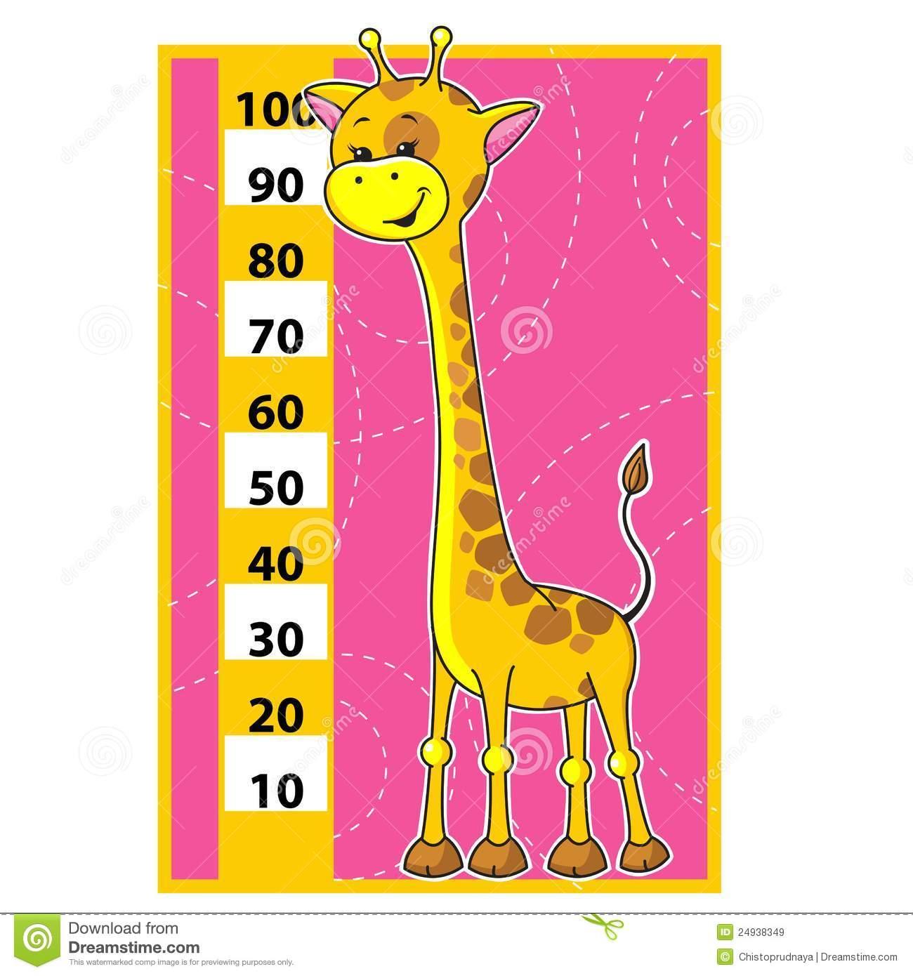 Giraffe Scale Stock Illustrations.