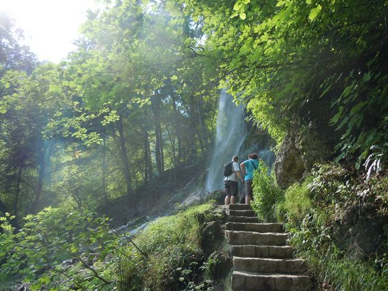 Waterfalls Bad Urach.