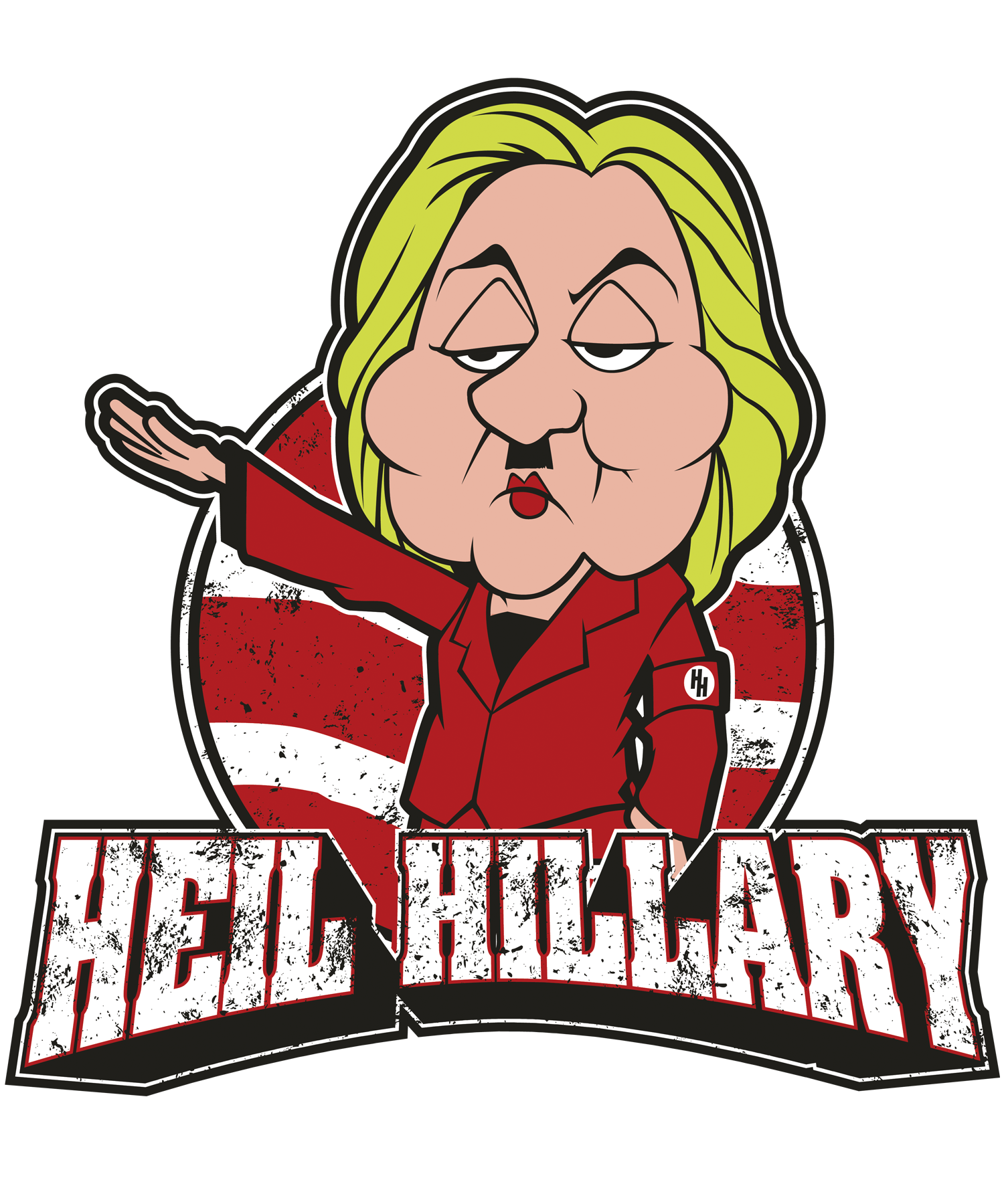HEIL HILLARY.