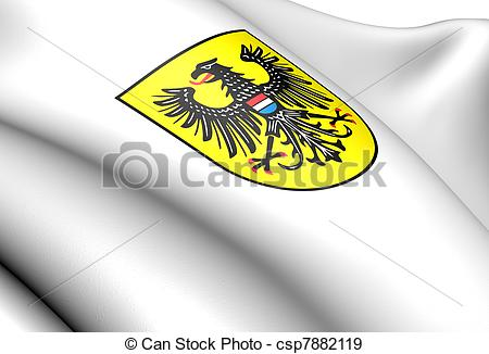Stock Illustration of Heilbronn coat of arms, Germany. Close up.