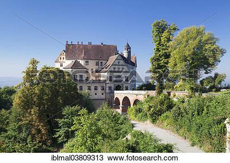 """Stock Photo of """"Schloss Heiligenberg Castle, Heiligenberg, Baden."""