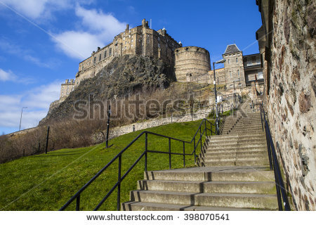 Castle Stairs Stock Photos, Royalty.