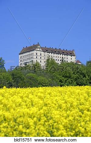 Stock Photography of Germany, castle of Heiligenberg bld15751.
