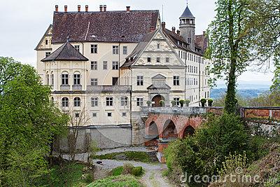 Heiligenberg Castle Royalty Free Stock Images.