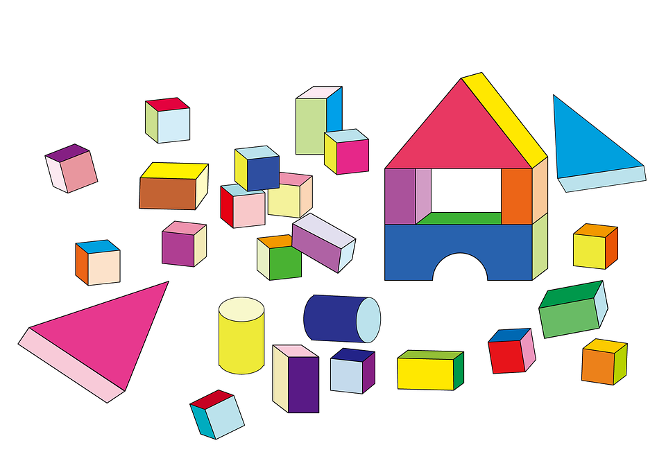 Building, Blocks.