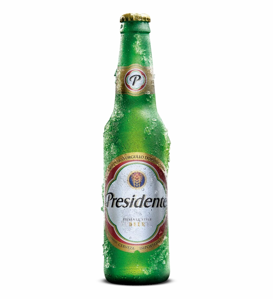 Cerveza Presidente Png Transparent Background.