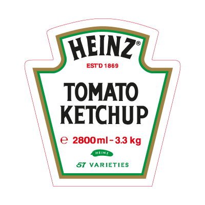Heinz Tomato Ketchup logo vector (.EPS, 436.95 Kb) download.