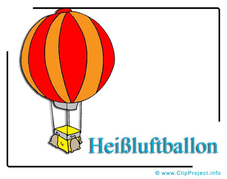 Heissluftballon Clipart free.