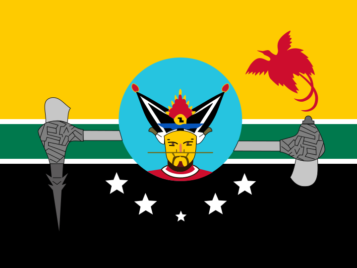 Hela Province (Papua New Guinea) : vexillology.