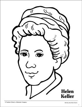 Helen Keller Drawing at PaintingValley.com.