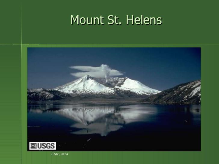 Mt st helens.