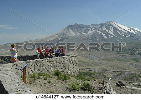 Picture of Mount St. Helens National Volcanic Monument, WA.