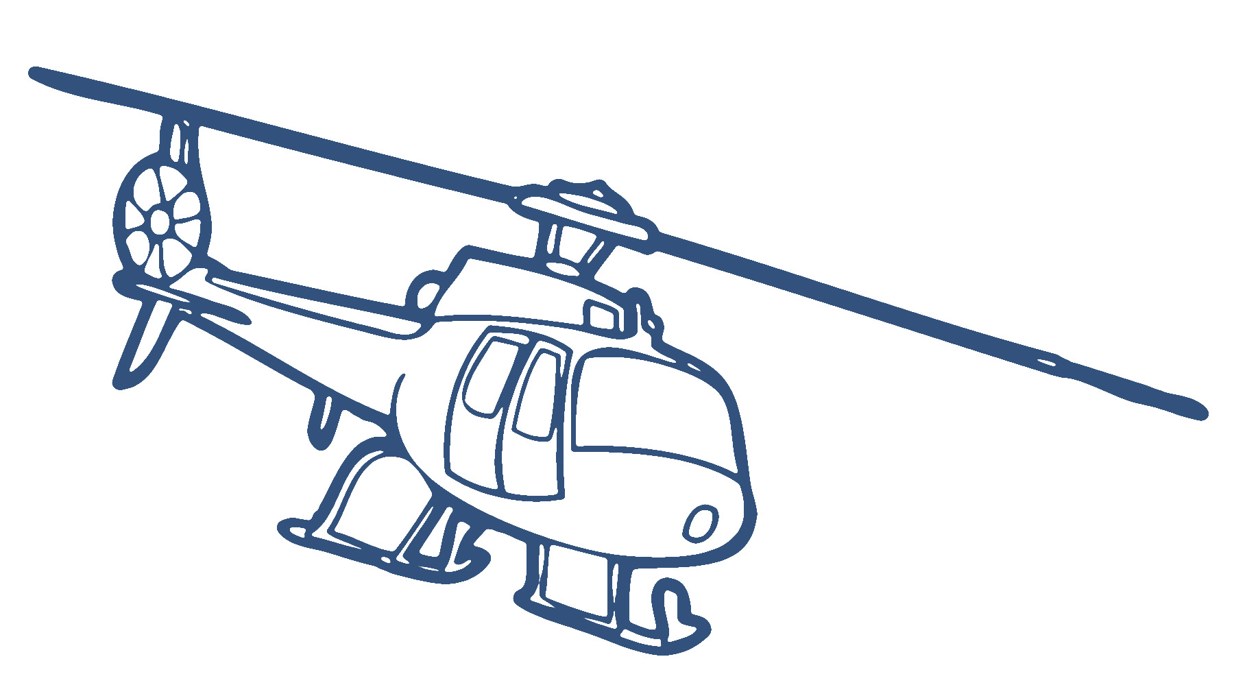 clipart helicopter.