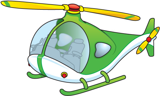 Helicopter Clipart.