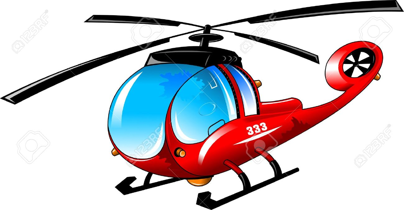 Helicopter cartoon