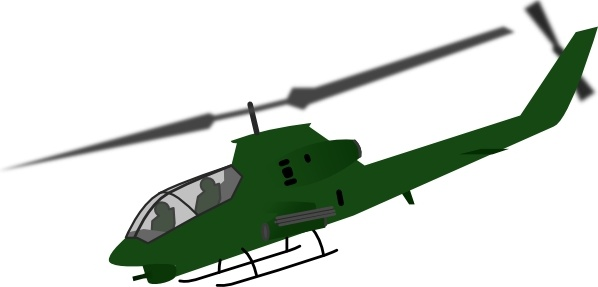 Helicopter clip art Free vector in Open office drawing svg ( .svg.