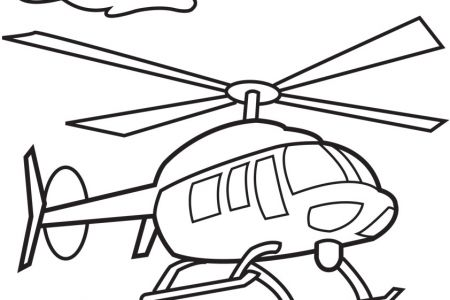 Helicopter clipart black and white 3 » Clipart Station.