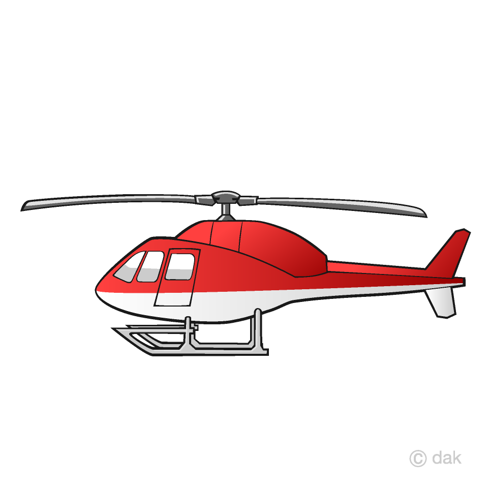 Free Helicopter Clipart Image|Illustoon.