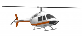 Helicopter Clipart Illustration Free Stock Photo.