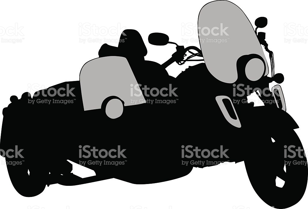 Retro Big Bike stock vector art 530928526.