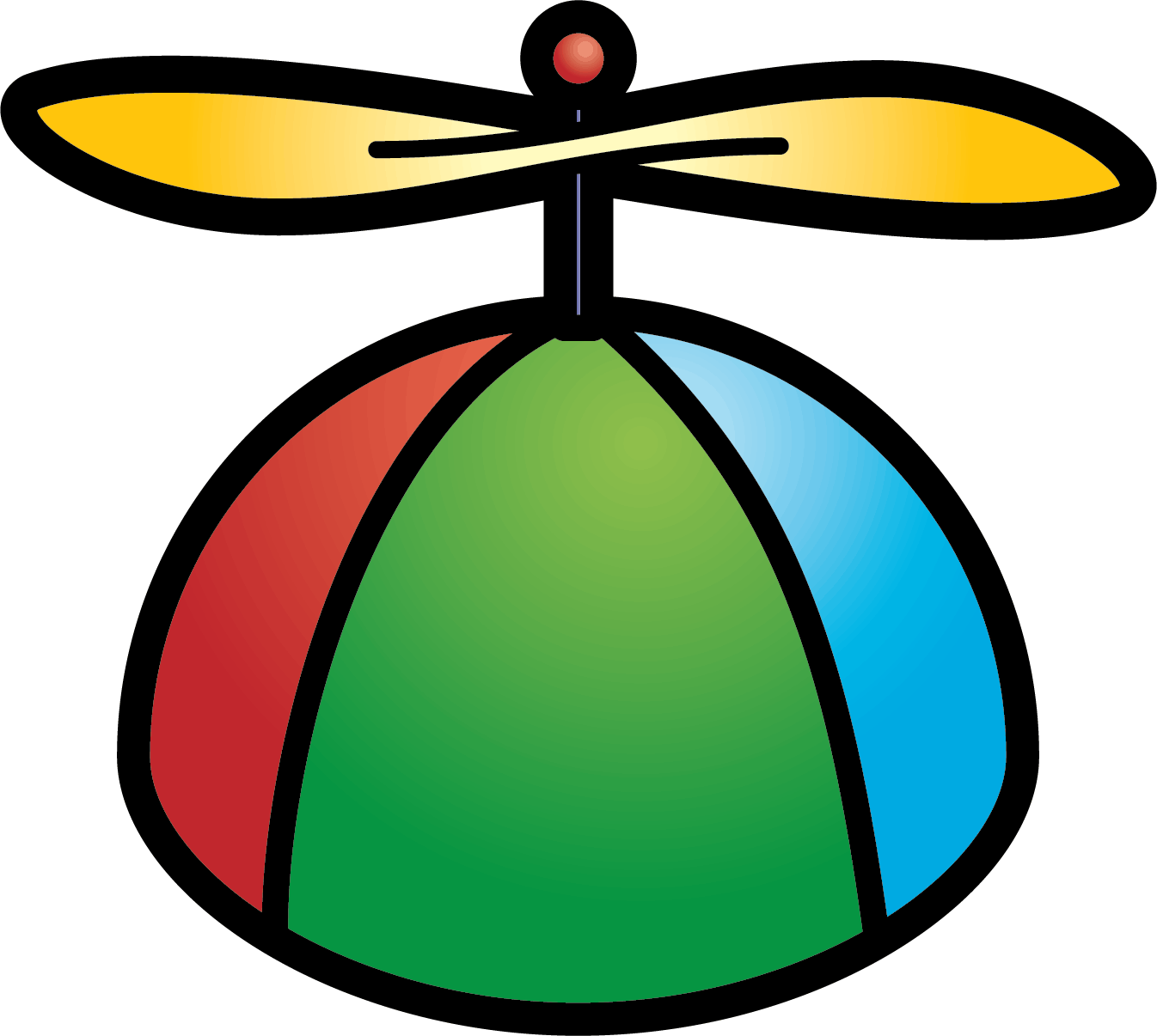 Propeller Hat Clipart.