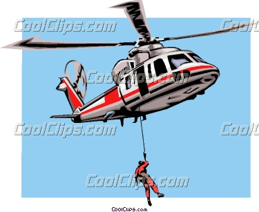 Helicopter cliparts.