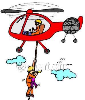 Helicopter Rescue Clipart Clipground