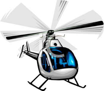 Police helicopter clipart - Clipground