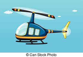 Vector of helicopter ride with people taking a tour on San.