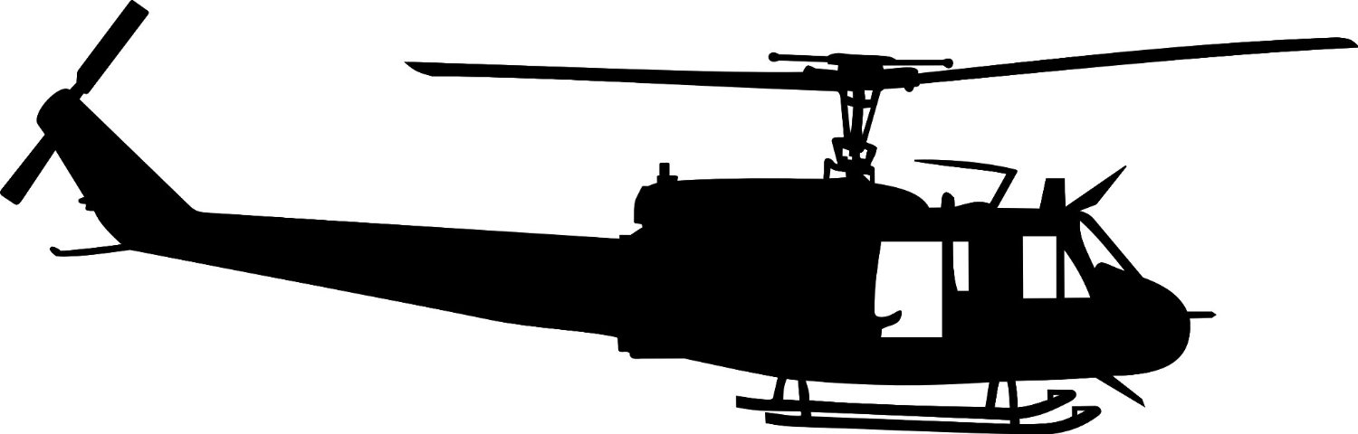 Free Huey Helicopter Silhouette, Download Free Clip Art.