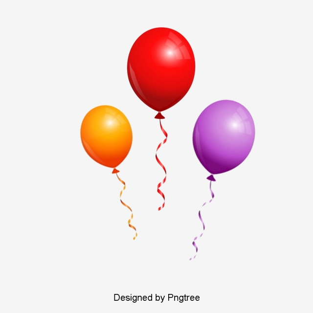 Helium Balloon PNG Images.