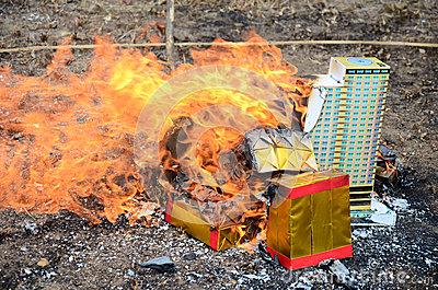 Burn In Hell Stock Illustration.