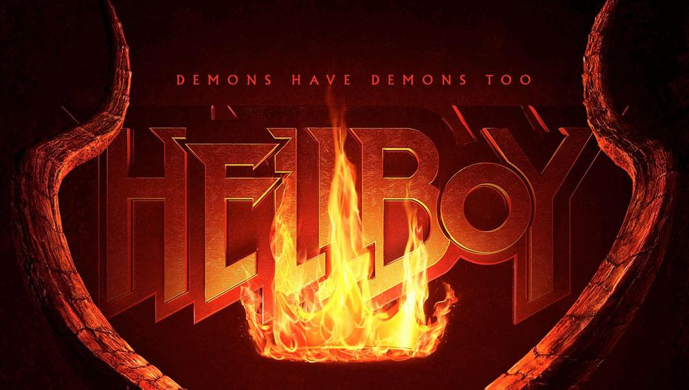 Hellboy Font.