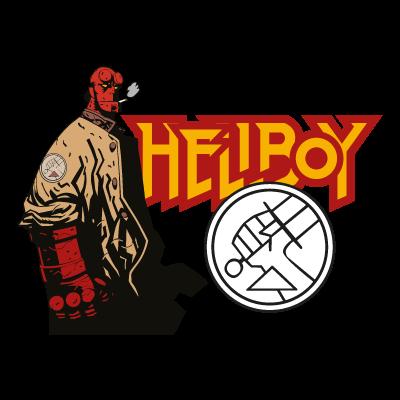 Hellboy vector logo.