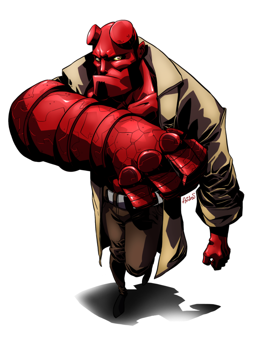Hellboy PNG Images Transparent Free Download.