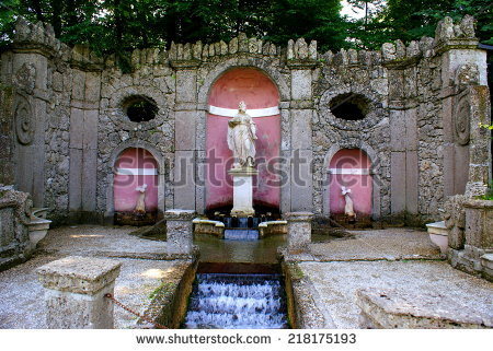 Austria Hellbrunn Palace Summer Stock Photos, Royalty.