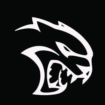Dodge Hellcat Logo Decal.
