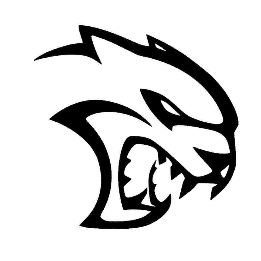 Dodge Hellcat Symbol.