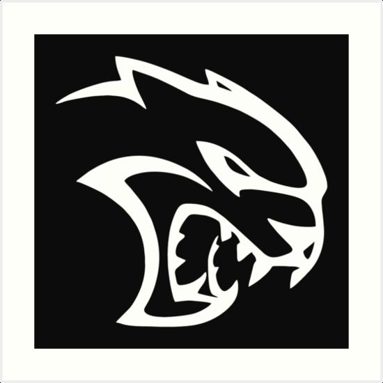 'Hellcat logo' Art Print by davidsson.