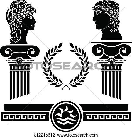Clipart of ancient greek theatre k12164852.