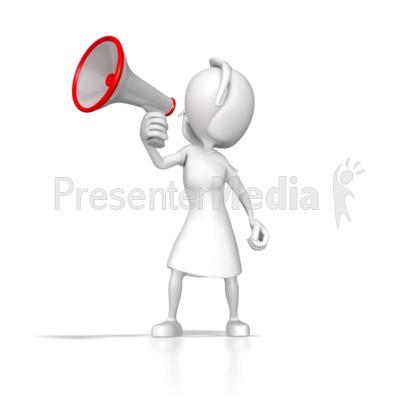 Speaker Presenter Clipart.